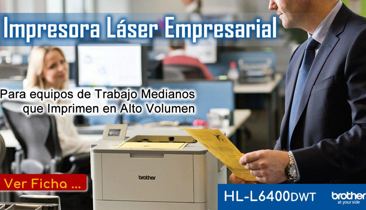 Impresora Monocromática Brother HL-L6400dwt - Aliados Comerciales ALICOM SAS